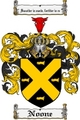 Thumbnail Noone Family Crest Noone Coat of Arms Digital Download