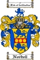 Thumbnail Norbell Family Crest  Norbell Coat of Arms