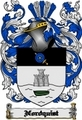 Thumbnail Nordquist Family Crest  Nordquist Coat of Arms Digital Download