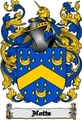 Thumbnail Notts Family Crest  Notts Coat of Arms Digital Download