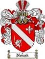 Thumbnail Novak Family Crest  Novak Coat of Arms