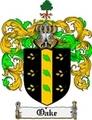 Thumbnail Oake Family Crest  Oake Coat of Arms