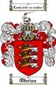 Thumbnail Obrine Family Crest  Obrine Coat of Arms