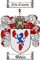 Thumbnail Odeir Family Crest  Odeir Coat of Arms