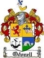 Thumbnail Odonell Family Crest  Odonell Coat of Arms