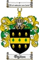 Thumbnail Ogdon Family Crest  Ogdon Coat of Arms