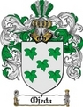 Thumbnail Ojeda Family Crest  Ojeda Coat of Arms