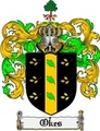 Thumbnail Okes Family Crest  Okes Coat of Arms