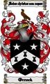 Thumbnail Orrock Family Crest  Orrock Coat of Arms Digital Download