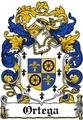 Thumbnail Ortega Family Crest / Ortega Coat of Arms