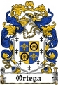 Thumbnail Ortega Family Crest / Ortega Coat of Arms
