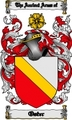 Thumbnail Oster Family Crest  Oster Coat of Arms Digital Download