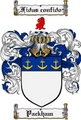 Thumbnail Packham Family Crest  Packham Coat of Arms