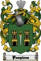 Thumbnail Pamplona Family Crest  Pamplona Coat of Arms Digital Download