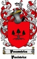 Thumbnail Panasewicz Family Crest  Panasewicz Coat of Arms Digital Download
