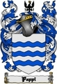 Thumbnail Pappi Family Crest  Pappi Coat of Arms Digital Download