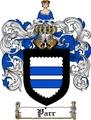 Thumbnail Parr Family Crest  Parr Coat of Arms