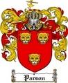 Thumbnail Parson Family Crest  Parson Coat of Arms