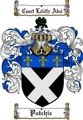 Thumbnail Patchie Family Crest  Patchie Coat of Arms