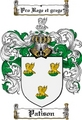 Thumbnail Patison Family Crest  Patison Coat of Arms