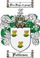 Thumbnail Pattersen Family Crest  Pattersen Coat of Arms