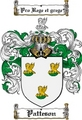 Thumbnail Patteson Family Crest  Patteson Coat of Arms