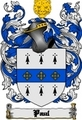 Thumbnail Paul Family Crest  Paul Coat of Arms Digital Download