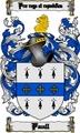 Thumbnail Paull Family Crest  Paull Coat of Arms Digital Download