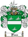 Thumbnail Peace Family Crest  Peace Coat of Arms
