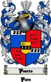 Thumbnail Pearre Family Crest  Pearre Coat of Arms Digital Download