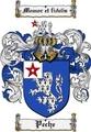 Thumbnail Peche Family Crest  Peche Coat of Arms