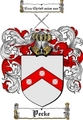 Thumbnail Pecke Family Crest  Pecke Coat of Arms