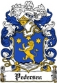 Thumbnail Pedersen Family Crest  Pedersen Coat of Arms