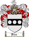 Thumbnail Penn Family Crest  Penn Coat of Arms