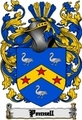 Thumbnail Pennell Family Crest  Pennell Coat of Arms Digital Download