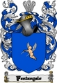 Thumbnail Pentangelo Family Crest  Pentangelo Coat of Arms Digital Download