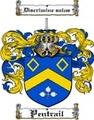 Thumbnail Pentrail Family Crest  Pentrail Coat of Arms