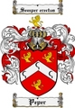 Thumbnail Peper Family Crest  Peper Coat of Arms