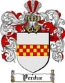 Thumbnail Perdue Family Crest  Perdue Coat of Arms Digital Download