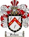 Thumbnail Perham Family Crest  Perham Coat of Arms