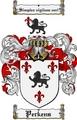 Thumbnail Perkens Family Crest  Perkens Coat of Arms