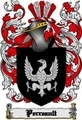 Thumbnail Perreault Family Crest  Perreault Coat of Arms Digital Download