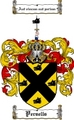 Thumbnail Persells Family Crest  Persells Coat of Arms