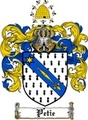 Thumbnail Petie Family Crest  Petie Coat of Arms