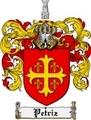 Thumbnail Petriz Family Crest  Petriz Coat of Arms