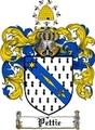 Thumbnail Pettie Family Crest  Pettie Coat of Arms