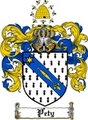 Thumbnail Pety Family Crest  Pety Coat of Arms