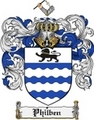 Thumbnail Philben Family Crest  Philben Coat of Arms