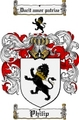Thumbnail Philip Family Crest  Philip Coat of Arms