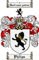 Thumbnail Philips Family Crest  Philips Coat of Arms
